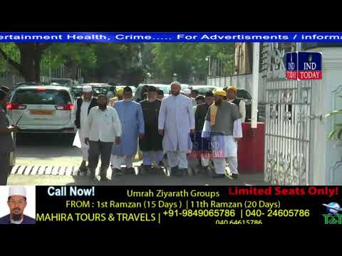 Asaduddin Owaisi Meets Governor With Demand For Retrial in Mecca Masjid Blast Case