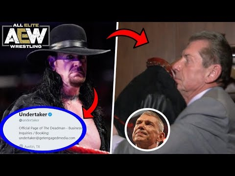 Real Reason Why The Undertaker REMOVED WWE From All Social Media REVEALED! Leaving WWE For AEW?!