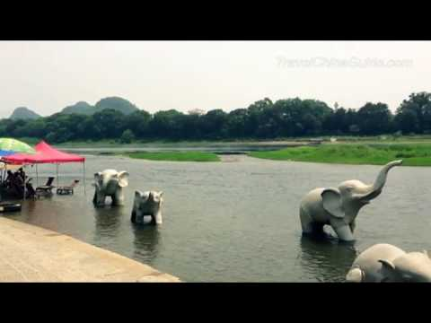 Video of China  Guilin Elephant Trunk Hill   never seen