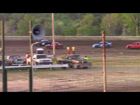 Hummingbird Speedway (5-18-19): Lockwood Processing Four-Cylinder Heat Race #1