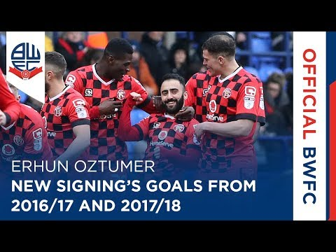 ERHUN OZTUMER | New signing's goals from 2016/17 and 2017/18