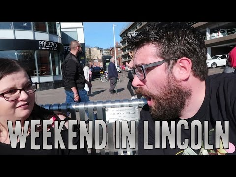 Exploring Lincoln | Castle, Waterfront, Steep Hill | Vlog