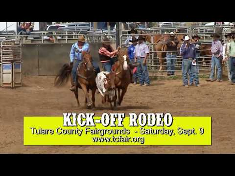 Tulare County Fair Rodeo - September 9, 2017