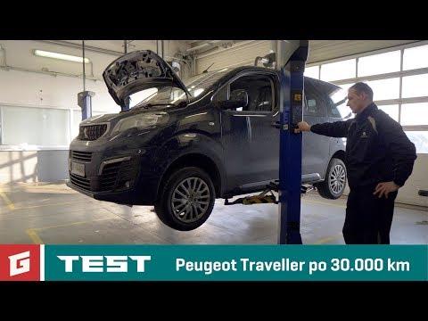 Peugeot Traveller po 30.000 km - servis - GARÁŽ.TV