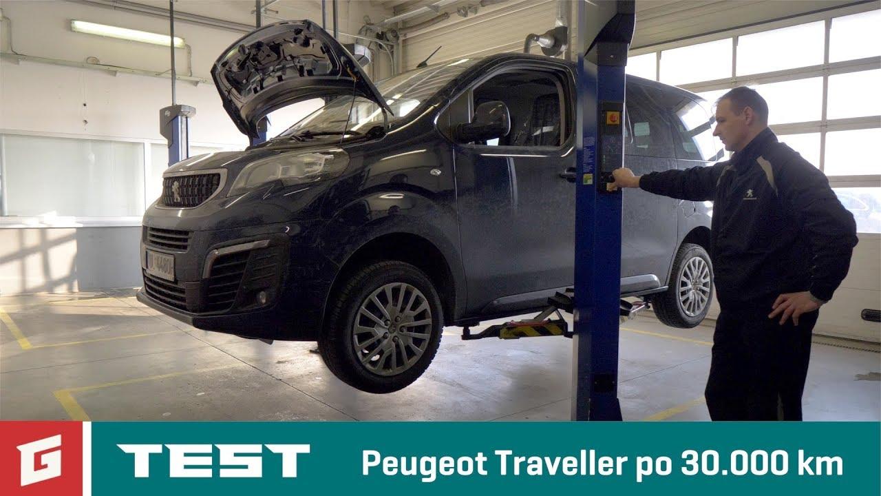 Peugeot Traveller po 30.000 km - servis - GARÁŽ.TV - YouTube