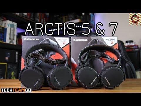 SteelSeries Arctis 5 & 7 Review