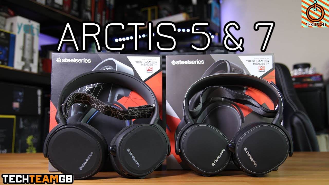 SteelSeries Arctis 5 & 7 Review - YouTube