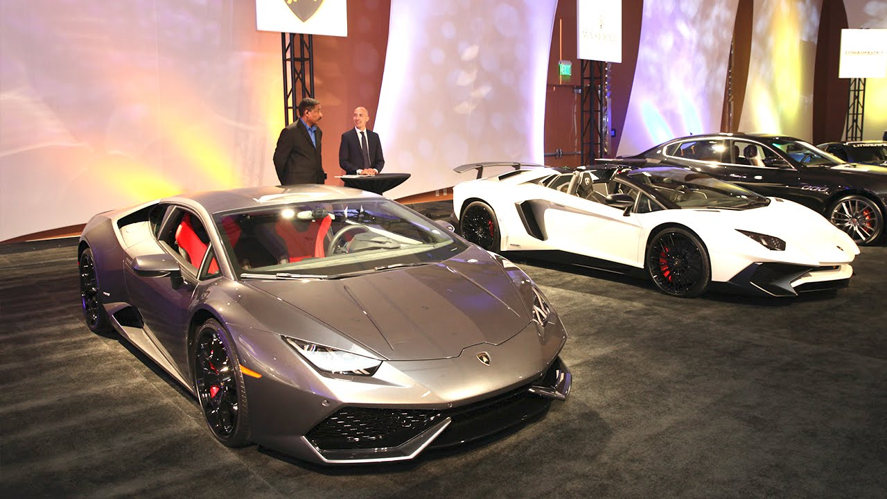 Detroit 2016 Auto Show Kicks Off With Luxury Car Preview