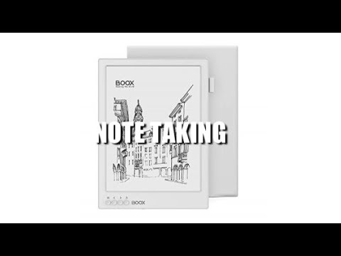 Onyx Boox Max2 Pro - Note Taking