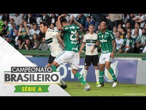 Melhores Momentos - Gol de Coritiba 1 x 0 Palmeiras - Campeonato Brasileiro (07/06/2017)