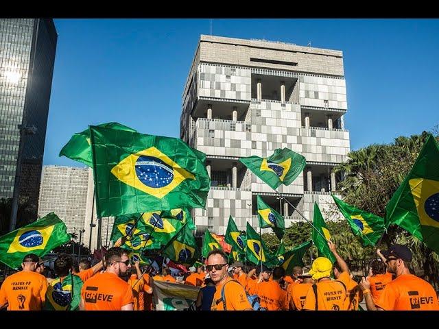 Marcha Nacional em Defesa do Emprego, da Petrobrás e do Brasil
