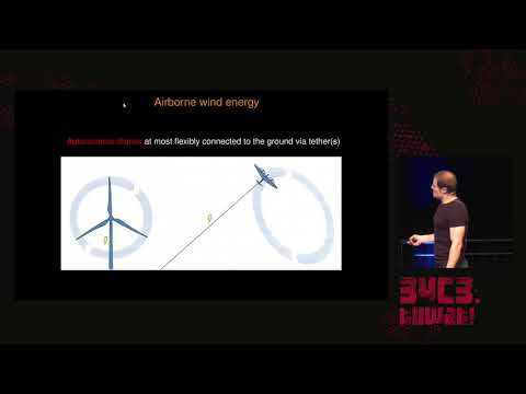 34C3 -  Drones of Power: Airborne Wind Energy