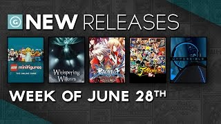 Whispering Willows, J-Stars Victory Vs, Unpossible - New Releases