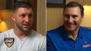 Tim Tebow, Dan Mullen talk Florida vs. Miami rivalry, season expectations | College Football on ESPN