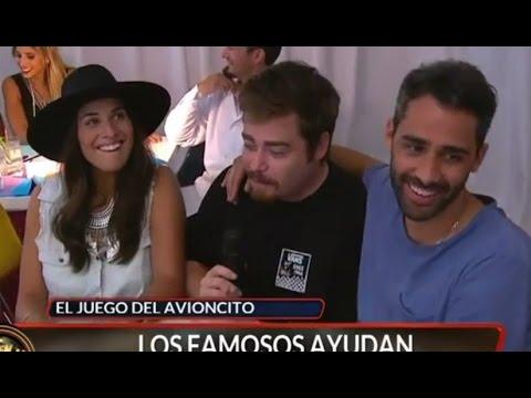 ¡Ivana Nadal y el Pollo Álvarez se reencontraron en el juego del avioncito! - Laten Argentinos