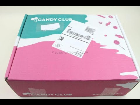 Candy Club July 2019 Candy Box Unboxing/Tasting + 50% Coupon Code