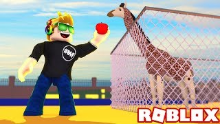 I HAVE BUILD MY OWN ROBLOX ZOO TYCOON