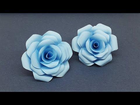 Make Beautiful Paper Roses   How to Make DIY Paper Flowers