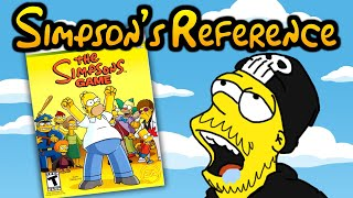 Simpson's Reference: The Simpson's Game (Xbox 360)