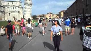 PISA  LA TORRE PENDENTE ITALIA