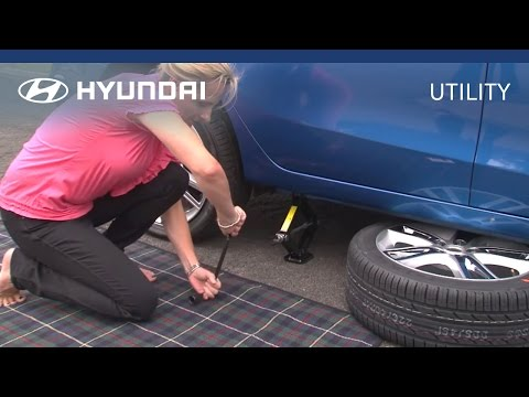 Hyundai | myHyundai | How to Change Your Car Tyre