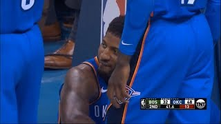 Paul George Can't Stop LAUGHING After  Flop Of The Year!