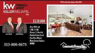 Lebanon OH Home for Sale on 1.5 Acres  790 Deer Run Trail, Lebanon, OH 45036