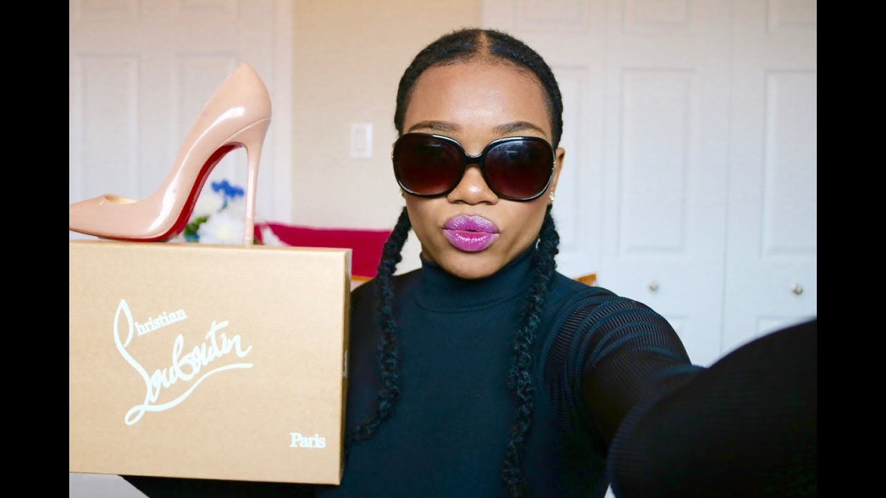 86bd2f1e70ad Unboxing Review Christian Louboutin Pigalle 120mm (Français) - YouTube