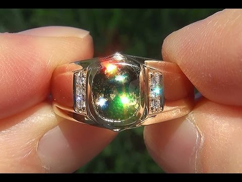 Gia Certified Natural Color Change Amp Flash Demantoid