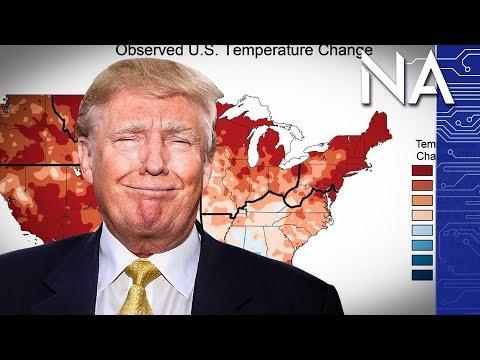 Trump Climate Change Tweet Easily Disproved by Kids Website