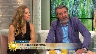 """Eva Röse och Kjell Bergqvist om """"Prästen i paradiset"""" - Nyhetsmorgon (TV4)"""