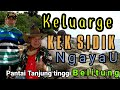 Keluarge Kek sidik holiday  ngayau ke pantai Tanjung tinggi belitung