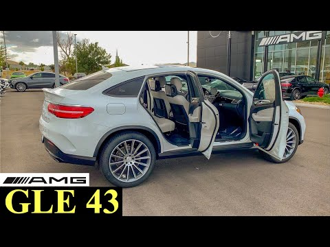 2019 Mercedes AMG GLE 43 SUV | Startup Exhaust Full Review | Premium LUXURY SUV