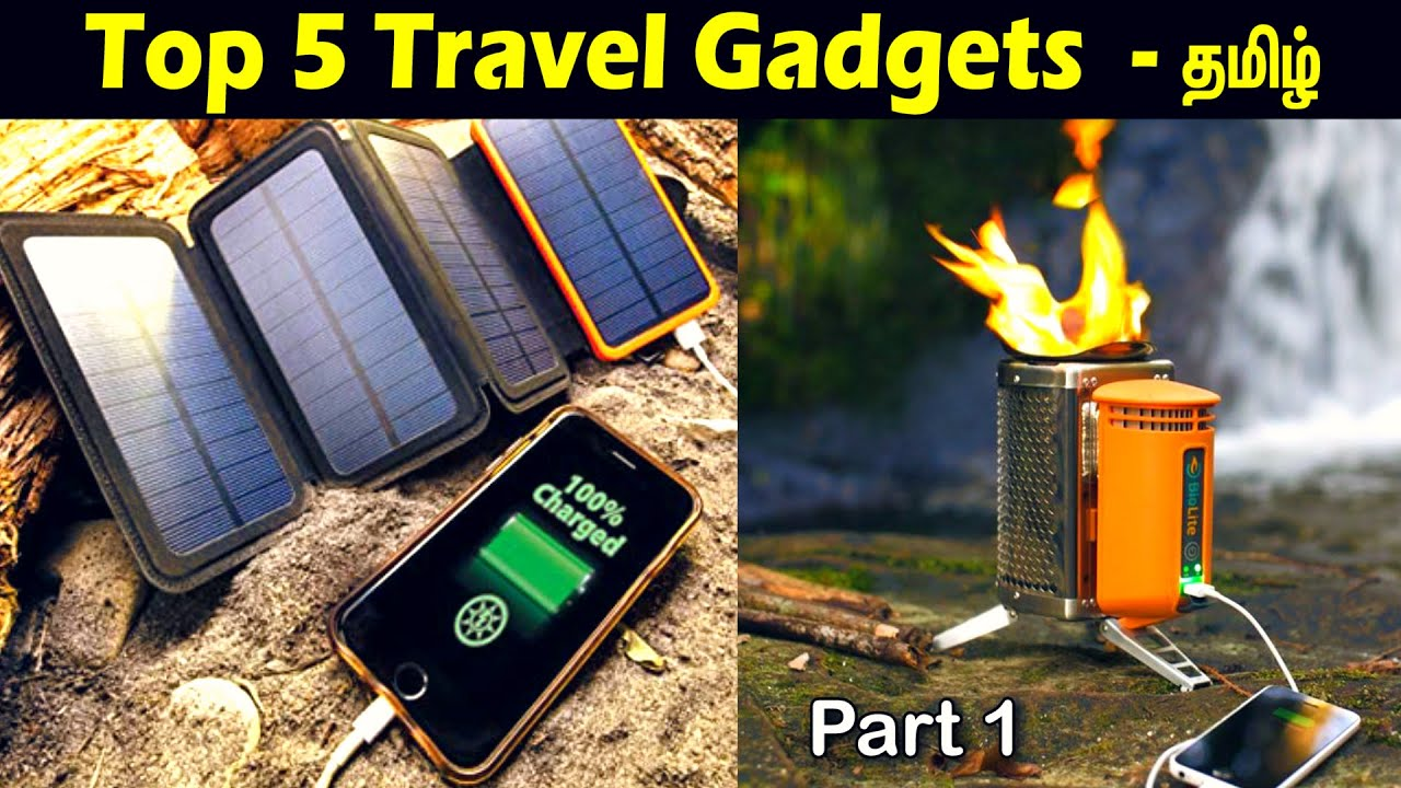 Top 5 Travel Gadgets – You Should Have | Tech explore