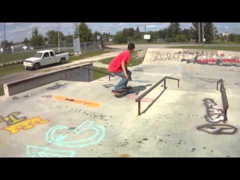 Skateboard Kirkland lake , Ontario 2012