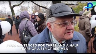 Eternal Memory: St Petersburg remembers victims of Soviet political repression
