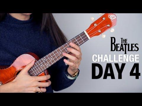 I WANT TO HOLD YOUR HAND - Ukulele Beatles Challenge DAY 4