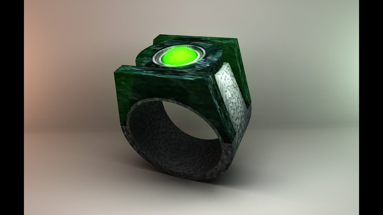 Green Lantern Ring How To Make A G...