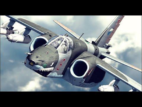 Su-25 in action