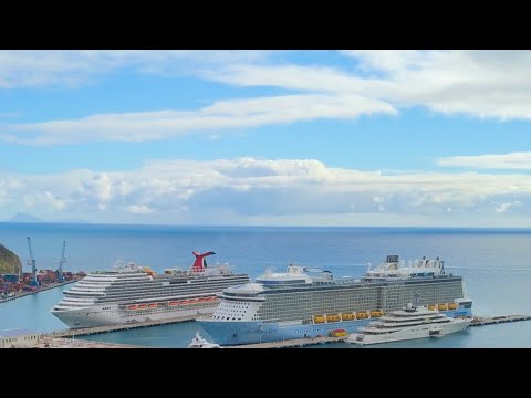 [HD] Carnival Vista Eastern Caribbean 8 Day Cruise 2018 - Grand Turk, San Juan, St.Kitts, St.Maarten