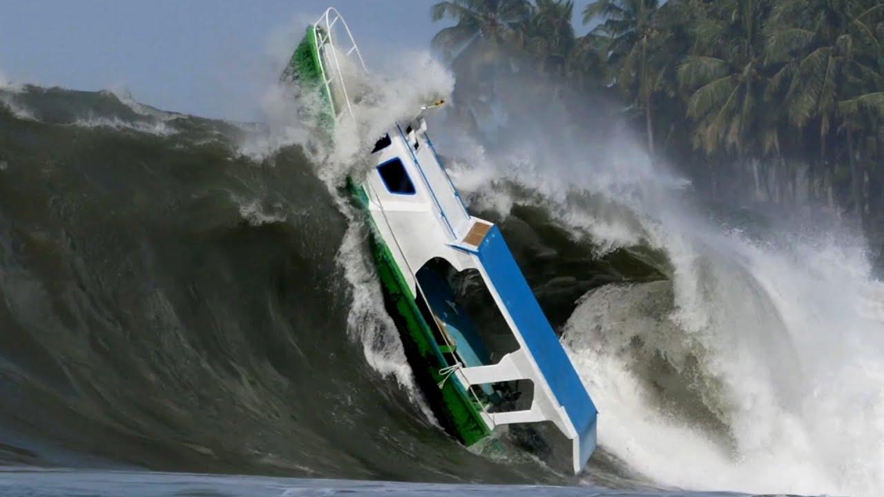 اخطر حوادث السفن و قوارب الصيد