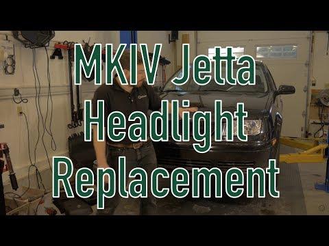 MkIV Jetta Headlight Replacement