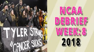 NCAA Football Debrief: Week 8 - Glass Turf
