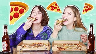 pizza mukbang