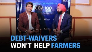 Boost farm income to solve problems: debt waivers won't help