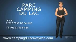 PARC CAMPING DU LAC en Aveyron, près de Rodez