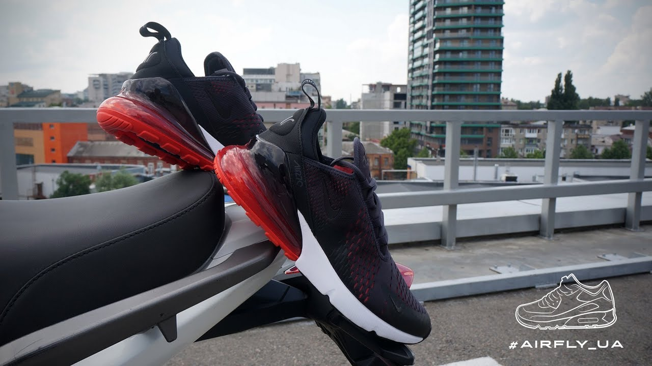 new concept 3b70b 53e0d Nike Air Max 270 Oil Grey Habanero Red