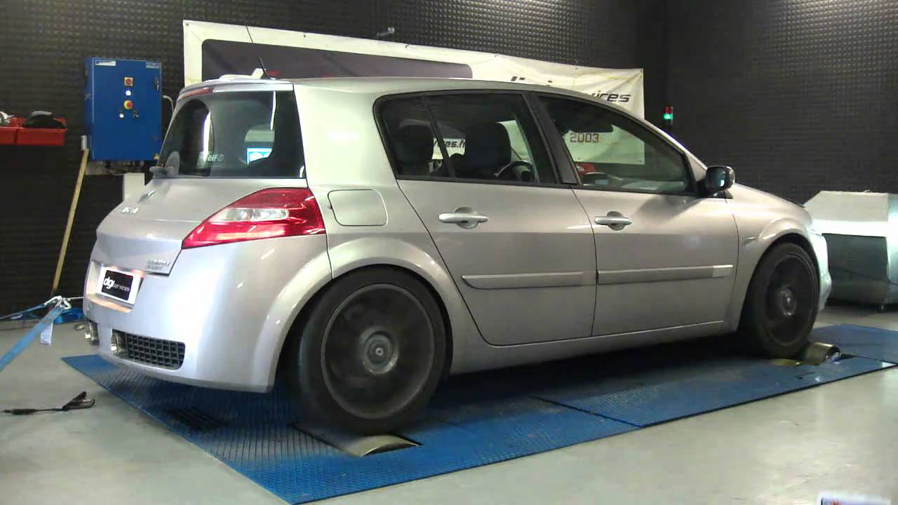 reprogrammation moteur renault megane 2 rs 225cv stage 2 279cv dyno digiservices youtube. Black Bedroom Furniture Sets. Home Design Ideas