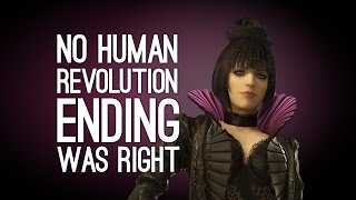 Deus Ex Mankind Divided Means No Ending of Human Revolution Was Right