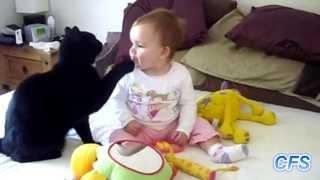 Кошки и дети. Мега ПОЗИТИВ!!!